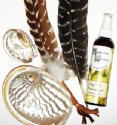 Sage Smudge Sticks & Smudging Feathers for Space Clearing